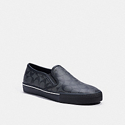 COACH C3093 Citysole Skate Slip On Sneaker CHARCOAL