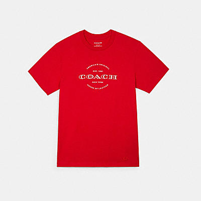 ハドソン ロゴ グラフィック Tシャツ