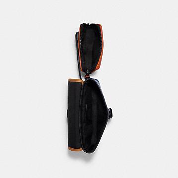 コーチ公式アウトレット | ライダー ダブル ベルト バッグ カラーブロック | ミニバッグ/ボディバッグ/ベルトバッグ