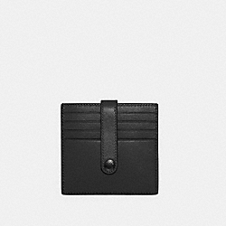 COACH C3162 - HERITAGE CARD CASE QB/BLACK