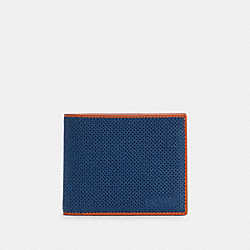 3-IN-1 WALLET IN COLORBLOCK - C3215 - QB/TRUE BLUE MULTI