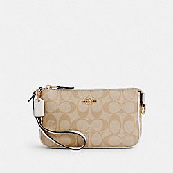 NOLITA 19 IN SIGNATURE CANVAS - C3308 - IM/LIGHT KHAKI CHALK