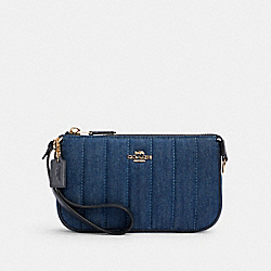 NOLITA 19 WITH QUILTING - IM/DENIM MULTI - COACH C3332