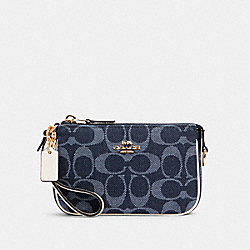 COACH C3334 - NOLITA 15 IN SIGNATURE JACQUARD IM/DENIM MULTI
