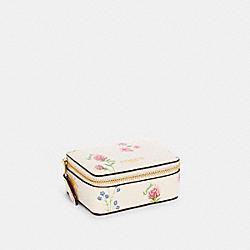 COACH C3364 Triple Pill Box With Spaced Wildflower Print IM/CHALK MULTI
