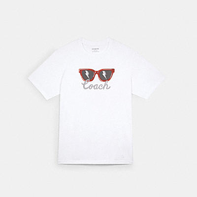 サングラス グラフィック Tシャツ