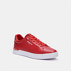 CLIP LOW TOP SNEAKER - C3408 - ELECTRIC RED SUNSTAR