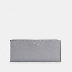 COACH C3440 - SLIM WALLET SV/GRANITE