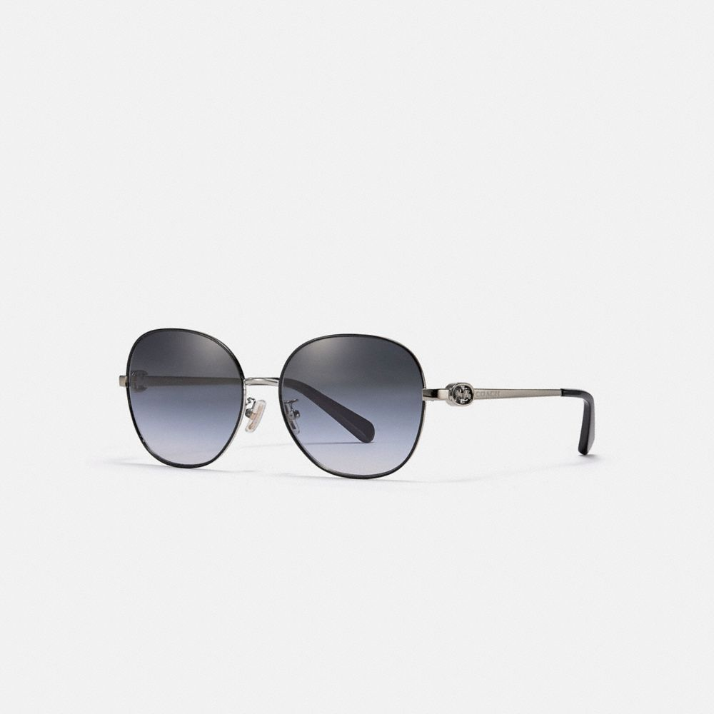 HORSE AND CARRIAGE ROUND SUNGLASSES