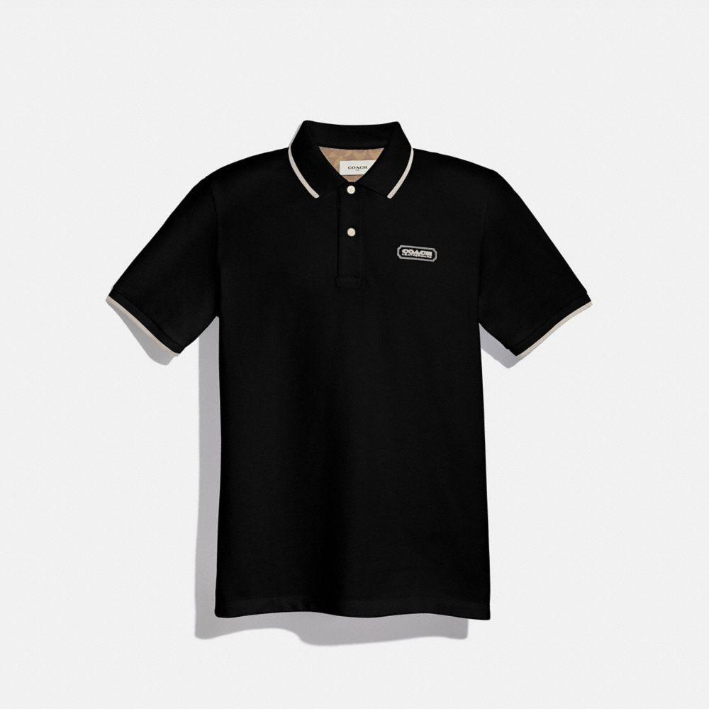 COACH 徽章 POLO 衫