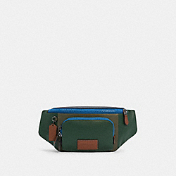 COACH C4022 - TRACK BELT BAG IN COLORBLOCK QB/DARK CLOVER MULTI