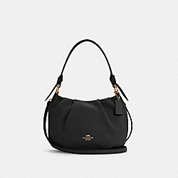 EVERLY SHOULDER BAG - IM/BLACK - COACH C4068