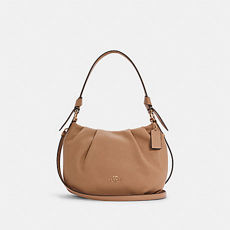 COACH C4068 EVERLY SHOULDER BAG IM/TAUPE
