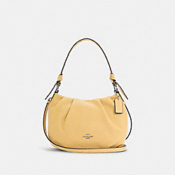 EVERLY SHOULDER BAG - SV/VANILLA CREAM - COACH C4068