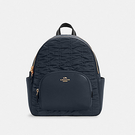 COACH C4094 COURT BACKPACK WITH RUCHING IM/MIDNIGHT