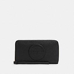 DEMPSEY LARGE PHONE WALLET - C4111 - IM/BLACK
