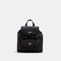 COACH C4121 Pennie Backpack 22 IM/BLACK