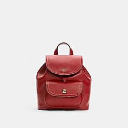 COACH C4121 Pennie Backpack 22 IM/1941 RED