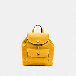 COACH C4121 Pennie Backpack 22 QB/OCHRE