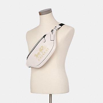 コーチ公式アウトレット   ワーレン ベルト バッグ ウィズ ホース アンド キャリッジ   ミニバッグ/ボディバッグ/ベルトバッグ