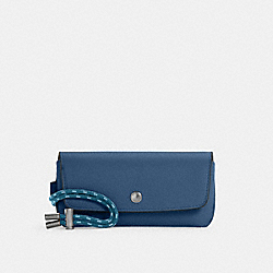 SUNGLASS CASE - QB/JEWEL BLUE - COACH C4237