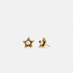 COACH C4270 - WILDFLOWER STUD EARRINGS GOLD
