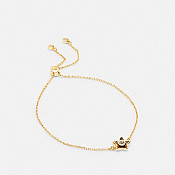 COACH C4273 - WILDFLOWER SLIDER BRACELET GOLD