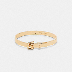 COACH C4282 - BUCKLE HINGED BANGLE GOLD