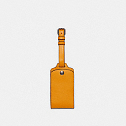 LUGGAGE TAG - QB/OCHRE - COACH C4330