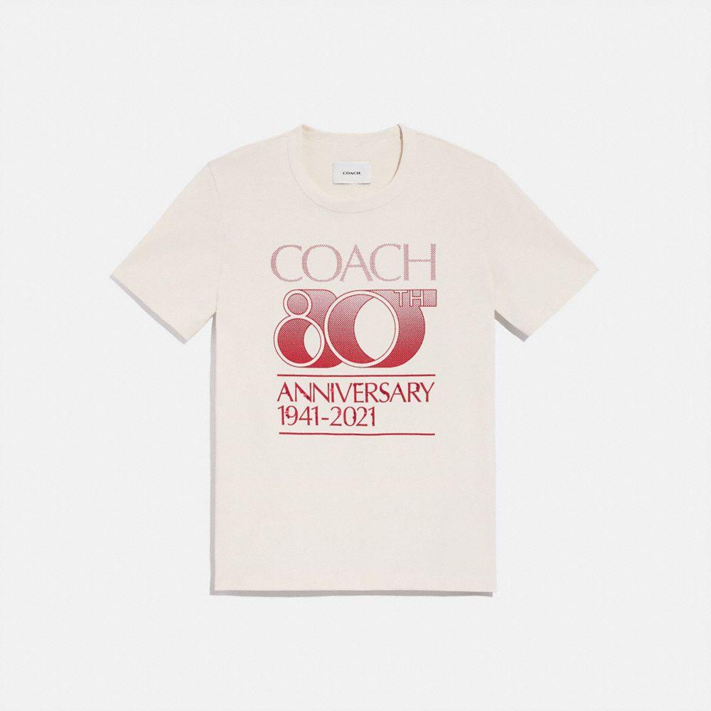 COACH 80 週年紀念 T-SHIRT