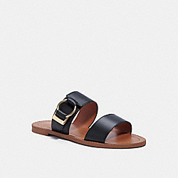 HALLIE SANDAL - BLACK - COACH C4388