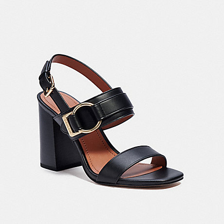 COACH C4391 MABEL SANDAL BLACK