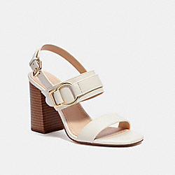 COACH C4391 - MABEL SANDAL CHALK