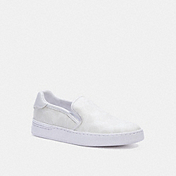 WELLS SLIP ON SNEAKER - OPTIC WHITE - COACH C4392