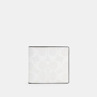 【日本限定】コイン ウォレット カラーブロック シグネチャー キャンバス