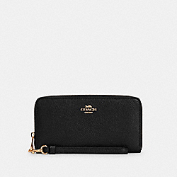 COACH C4451 - LONG ZIP AROUND WALLET IM/BLACK