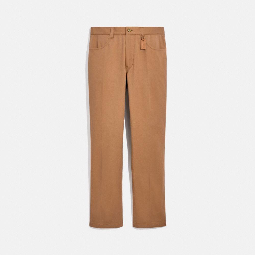 70 年代風格抗皺長褲