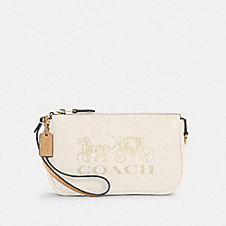 COACH C4653 - NOLITA 19 WITH HORSE AND CARRIAGE IM/CHALK/VANILLA CREAM