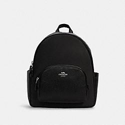 COURT BACKPACK - C4654 - SV/BLACK