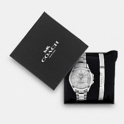 COACH C4719 - LIBBY WATCH GIFT SET, 37MM STAINLESS STEEL