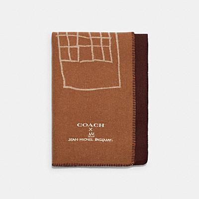 *COACH X JEAN-MICHEL BASQUIAT オーバーサイズド スカーフ