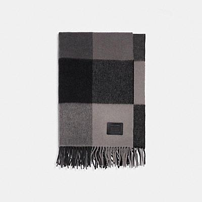 オーバーサイズド プラッド スカーフ