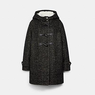 ダッフル ウール コート