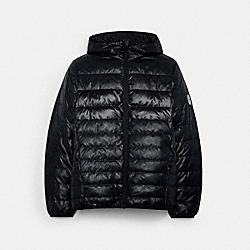 COACH C5189 Packable Down Jacket BLACK