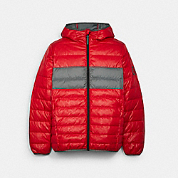 COACH C5189 Packable Down Jacket MARS RED