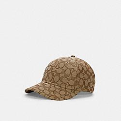 SIGNATURE JACQUARD CAP - C5211 - KHAKI