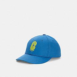RETRO SIGNATURE CAP - C5212 - RACER BLUE