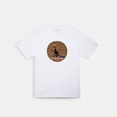 COACH X JEAN-MICHEL BASQUIAT シグネチャー Tシャツ