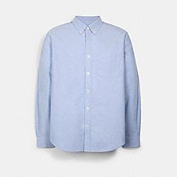 LONG SLEEVE OXFORD SHIRT - C5228 - FRENCH BLUE