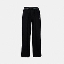 LOUNGE PANT - C5229 - BLACK